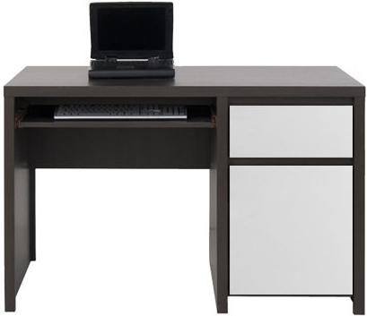 Stôl Kaspian BIU1D1S/120 Wenge/Bely