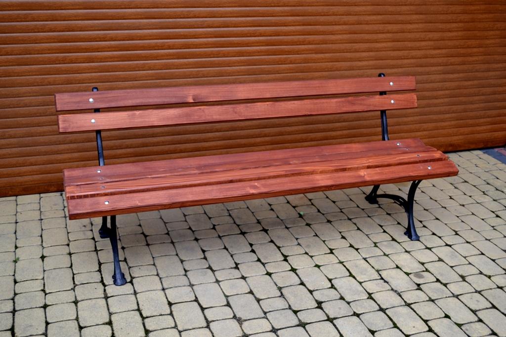 Parková lavička Alenka 150cm