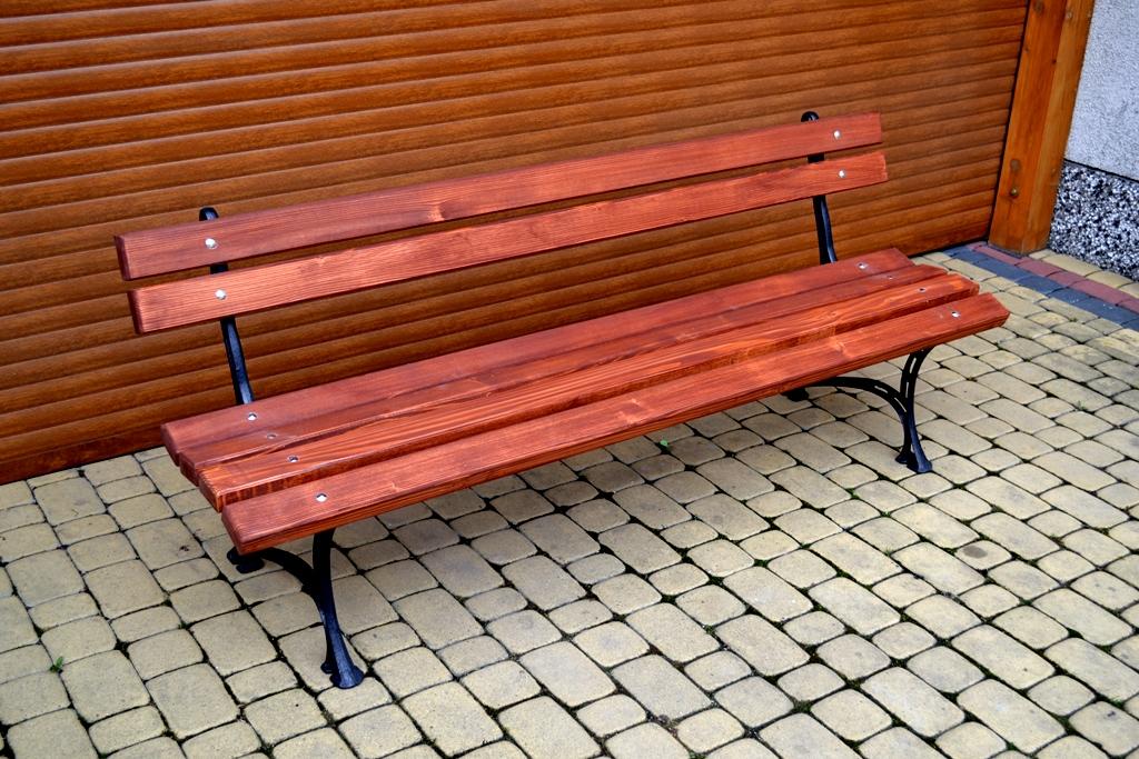 Parková lavička Alenka 180cm