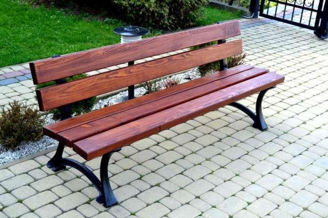 Parková lavička Mesto 180cm