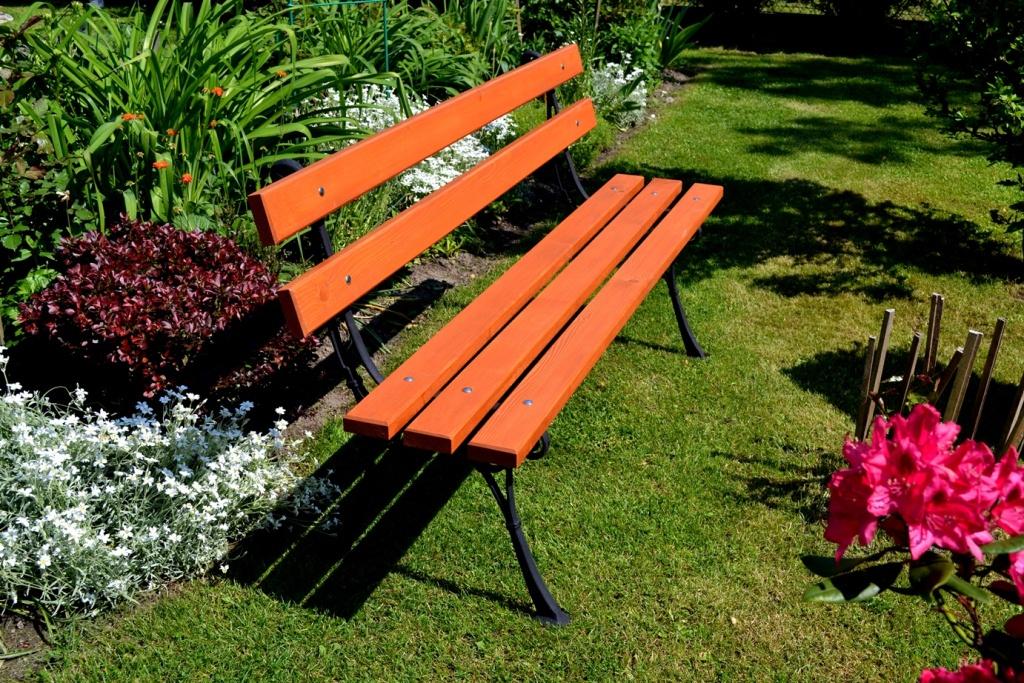 Parková lavička Olga 150cm H3