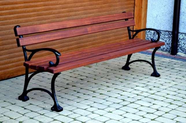 Parková lavička Paula 150cm