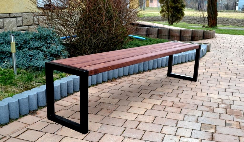 Parková lavička Zuzka 150cm H4