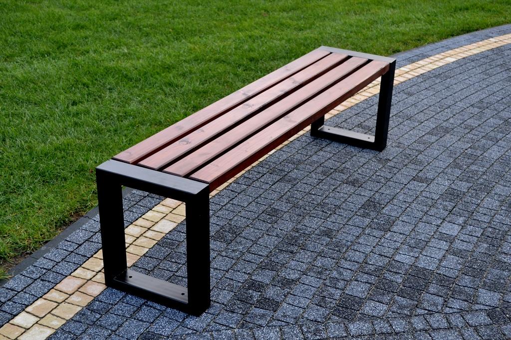 Parková lavička KAMA 180 cm