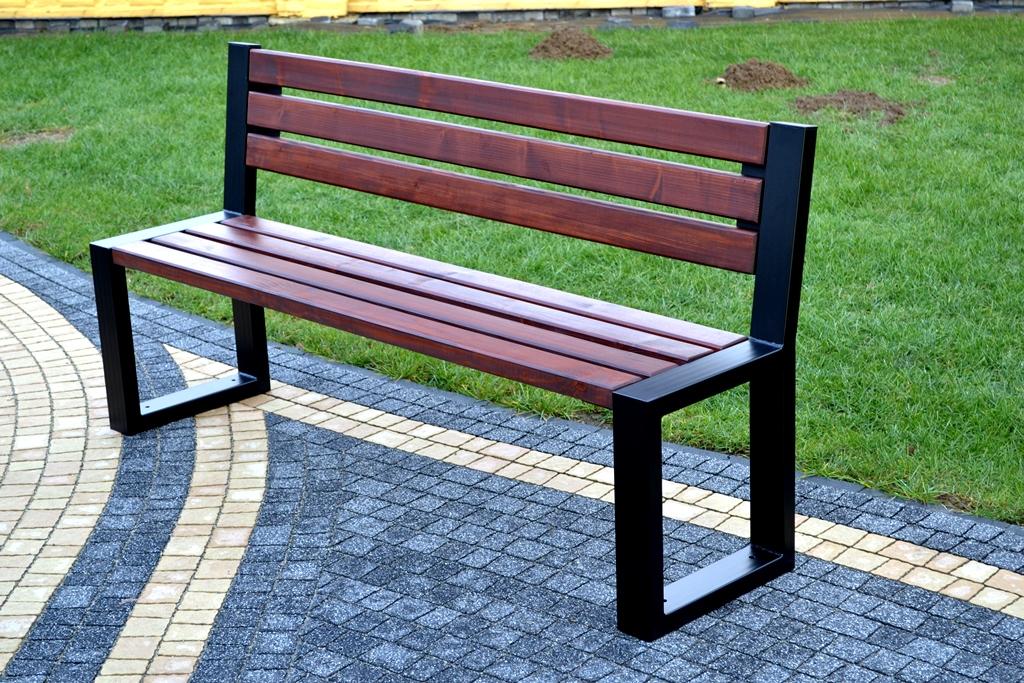 Parková lavička ROSA 180 cm